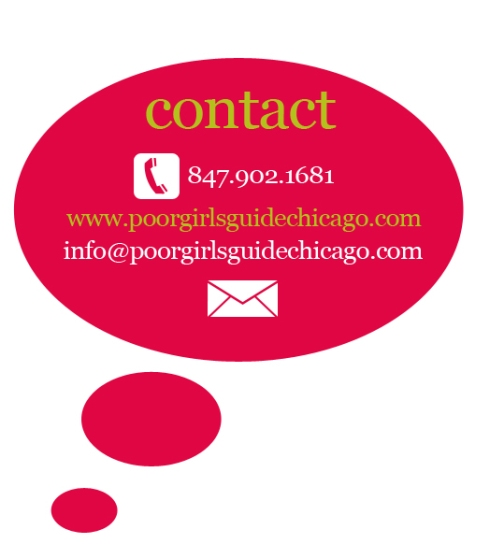 Poor Girls Guide Chicago - Contact