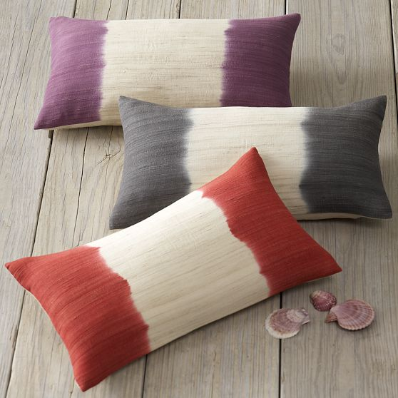 West Elm removable pillow covers - Chicago budget decorating
