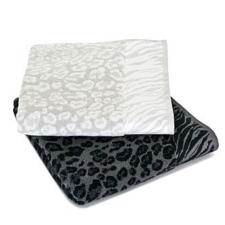 """Natori """"Snow Leopard"""" Towels"""