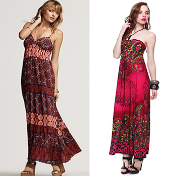 e4e5dd8ee6 Look For Less  Maxi Dress – Bloomingdales vs. Forever 21 – the ROOM ...