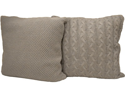Katie Brown Knit Sweater Pillow Meijer