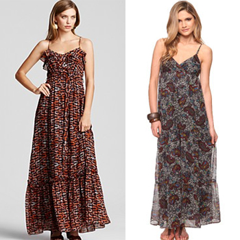 Maxi Dress At Bloomingdale's & Forever 21