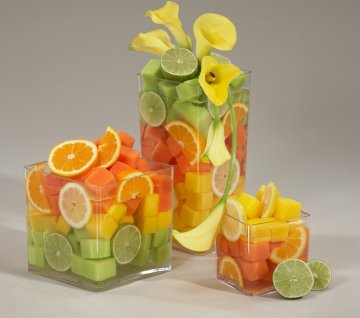 Fruit party arrangements - sangria party ideas