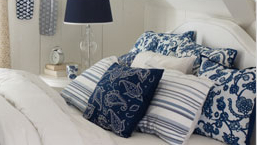 Blue & White Home Decor