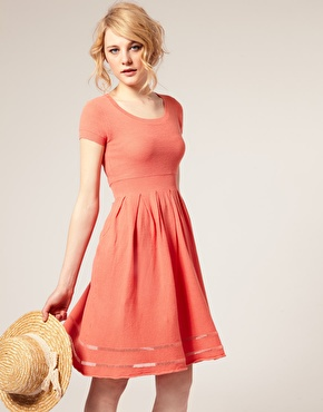 ASOS '50s Knitted Dress