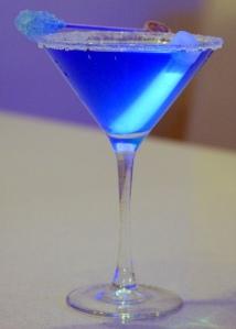 Something Blue Tini