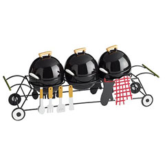 BBQ Condiment Serving Set