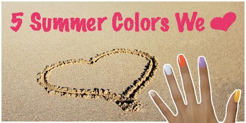 Summer 2011 OPI Nail colors