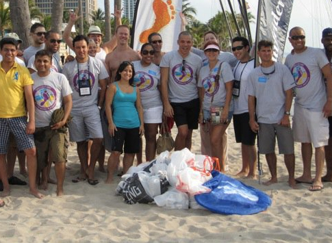 Barefoot Beach Cleanup Chicago