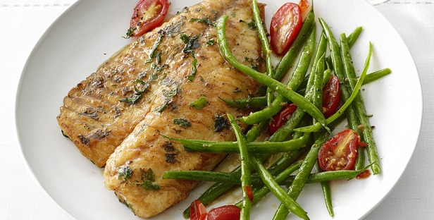 Cheap & Easy Weeknight Recipe: Tilapia with Green Beans