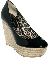 Kate Middleton Black Wedges - Jessica Simpson Wedges