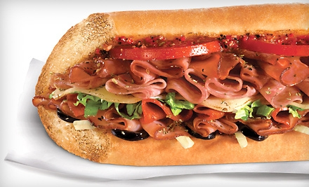 Quiznos Punch Card Groupon