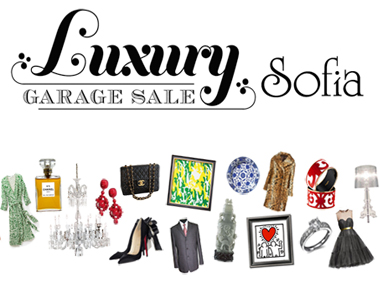 Luxury Garage Sale / Sofia