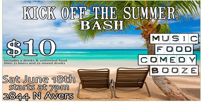 Kick Off The Summer Right Bash