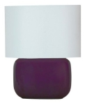 Purple Ceramic Lamp