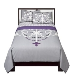 Purple Chandelier Comforter