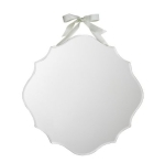 Shabby Chic Beveled Hanging Mirror