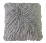 Silver Fur Pillow