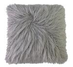 Silver Fur Pillow