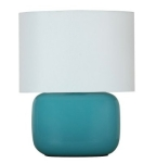 Teal Ceramic Lamp