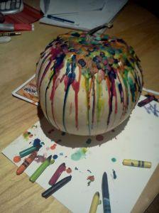 Crayon Melted Pumpkin