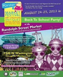 Back-To-School At Randolph Street Market