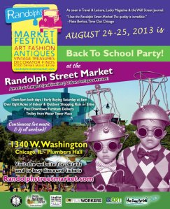 Back-To-School At Randolph Street Market
