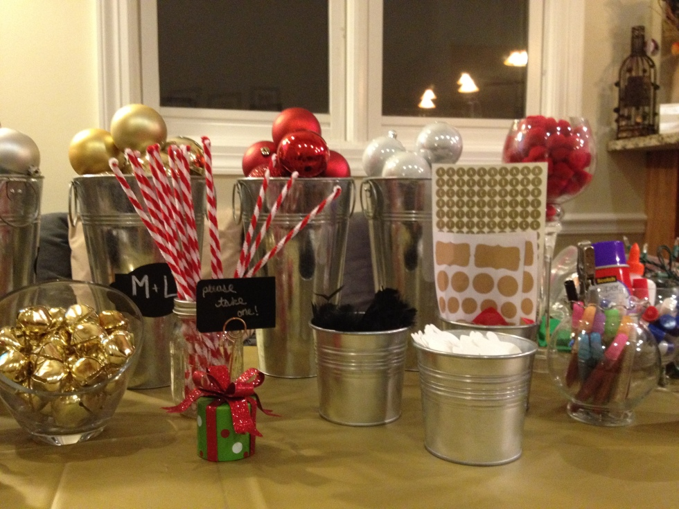 Ornament Making Party