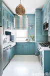 Small Blue Kitchen