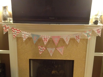 DIY Free Printable Valentine's Day Banner