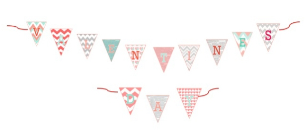 Free DIY Printable Valentine's Day Banner