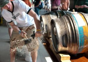 Firkin Tapping Party
