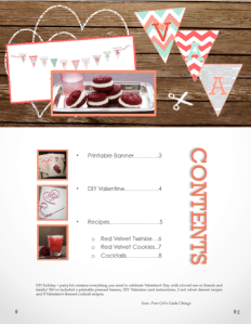 Valentine's Day eBook Holiday + Party Kit