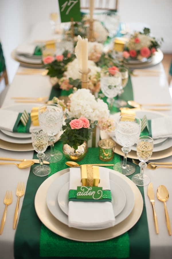 St. Patrick's Day decorating ideas (credit: blovelyevents.com)
