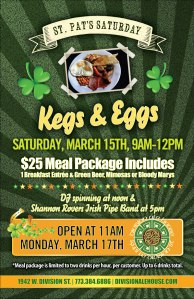 Division Ale House Kegs & Eggs