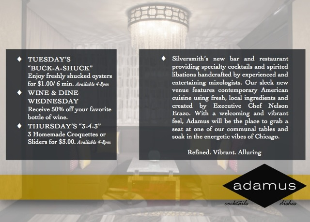 Adamus - Silver Smith Hotel Chicago