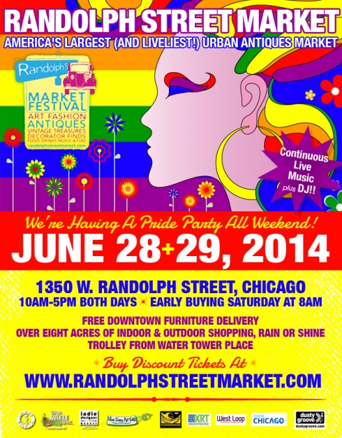 Randolph Street Market June 2014