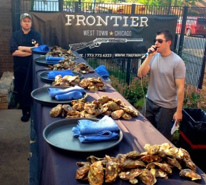 Frontier Oyster Contest