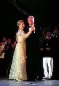 Hillary Clinton De La Renta 1997 Inaguration