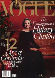 Vogue Hillary Clinton 1998