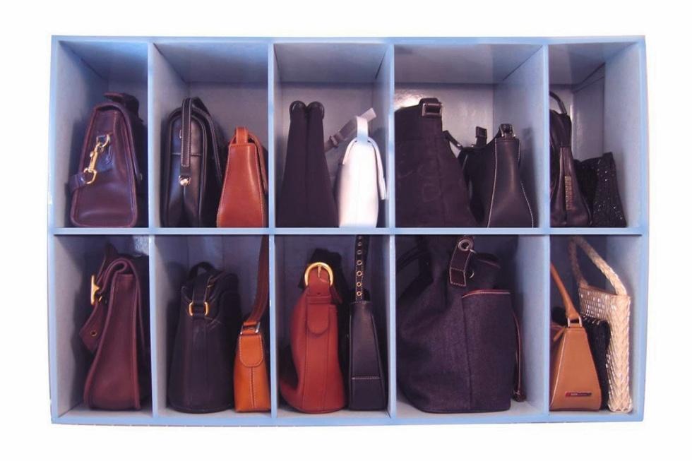 closet purse organizer